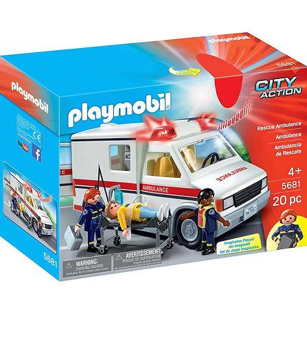 Playmobil Ambulancia de Rescate