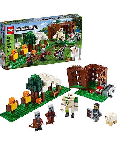 LEGO Minecraft The Pillager Outpost 21159 (303 piezas)
