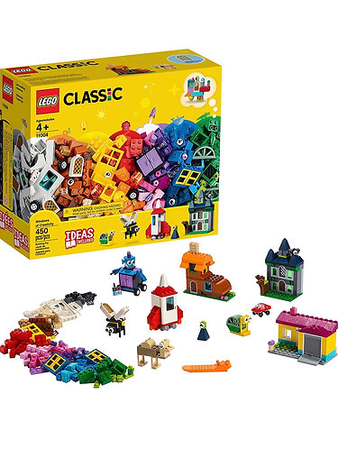LEGO Classic Windows of Creativity 11004 (450 piezas)