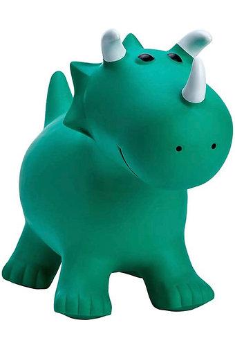 Rinoceronte para saltar - Juguete Inflable (Color Verde)
