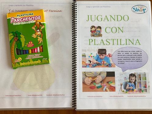 Libro Babyshop Jugando con Plastilina