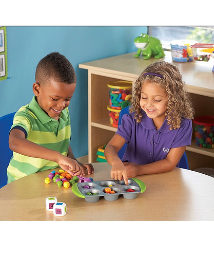 Learning Resources Mini Muffin Counters (77 pcs)
