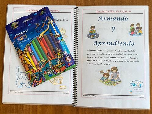 Libro Babyshop Armando y Aprendiendo 1