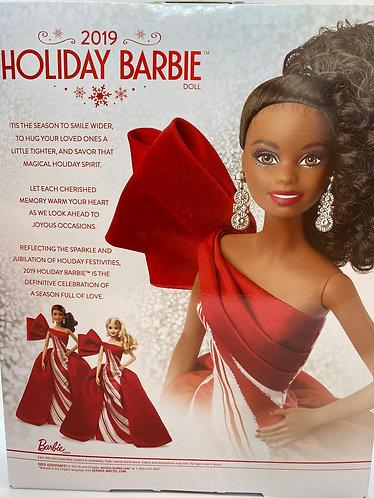 2019 Holiday Barbie (Brunette)