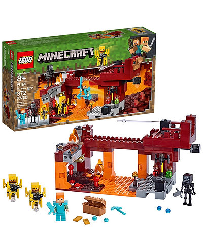 Lego Minecraft The Blaze Bridge 21154 (372 piezas)