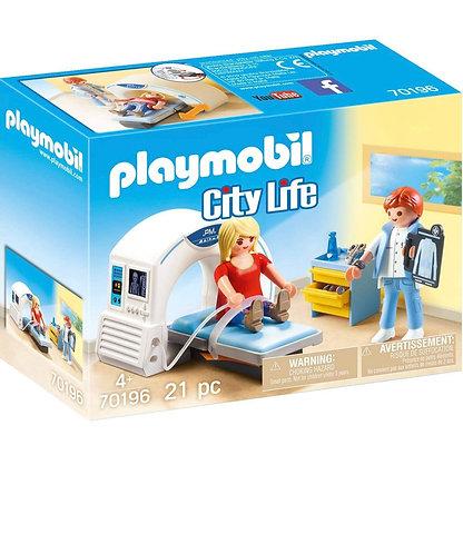 Playmobil Set de Juego de Radiólogo (21 Pcs)