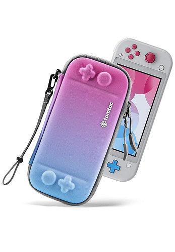 Case para Nintendo Switch Lite Color Azul/Rosa