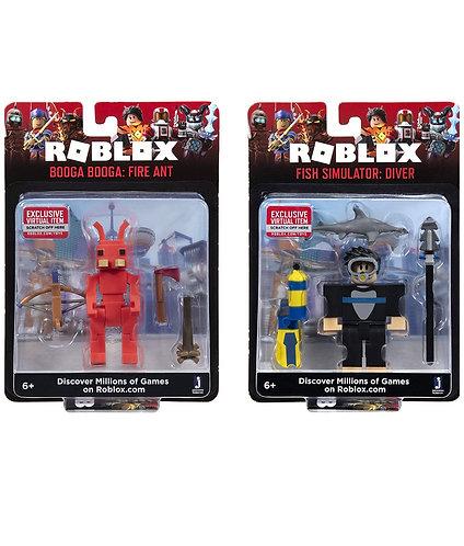 Roblox Action Collection Buceador + Booga Booga