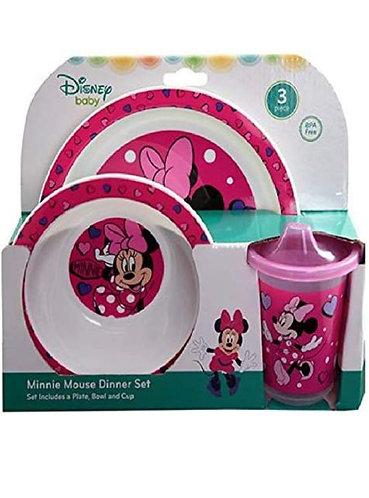 Vajilla Minnie 3 piezas