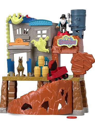 Scooby-Doo Haunted Ghost Town Fisher-Price Imaginext