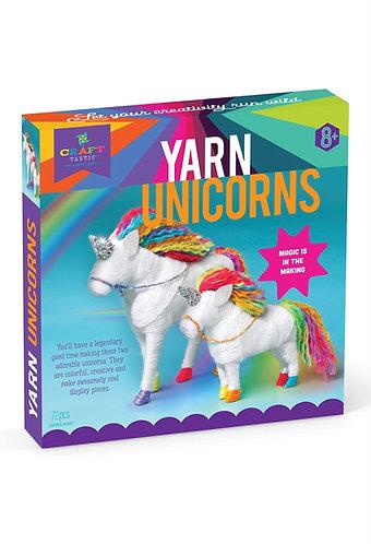 CraftTastic Kit para Tejer 2 Unicornios