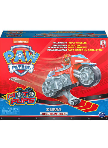 Paw Patrol Moto Pups Zuma Deluxe Pull Back Motorcycle