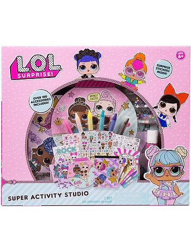 LOL Surprise Set Dibuja y Crea con Pegatinas y Piedras Preciosas