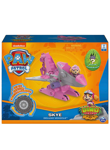 Paw Patrol Dino Rescue Skye (Incluye Dinosaurio Sorpresa)