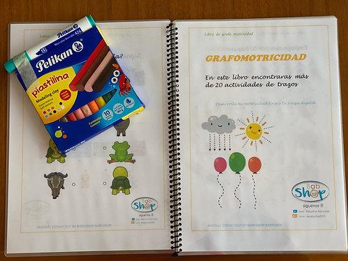 Libro Babyshop Grafomotricidad