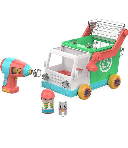 Educational Insights Design & Drill Camión de Reciclaje