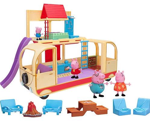 Peppa Pig's Transforming Campervan Set de juego