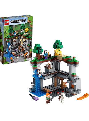 LEGO Minecraft The First Adventure 21169 (542 pcs)