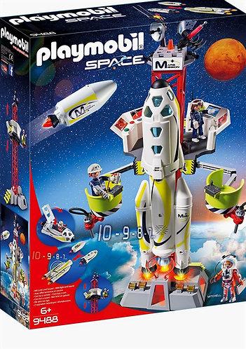 Playmobil Misión Cohete con Estación de Lanzamiento