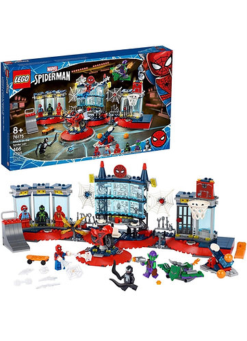 LEGO Spiderman Attack on the Spider Lair 76175 (466 pcs) 2021