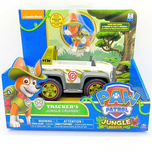 Paw Patrol Tracker's jeep de la selva Patrulla Canina
