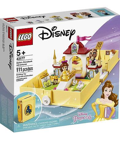 LEGO Disney 43177 Libro de las Aventuras de Bella 111 pcs