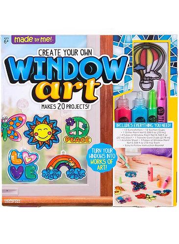 Window Art Crea tu Propia Manualidad para Ventanas - kit con accesorios