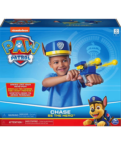 Paw Patrol Be The Hero Chase Role-Play Set