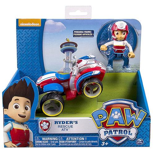 Paw Patrol Ryder con Vehículo Todoterreno Patrulla Canina