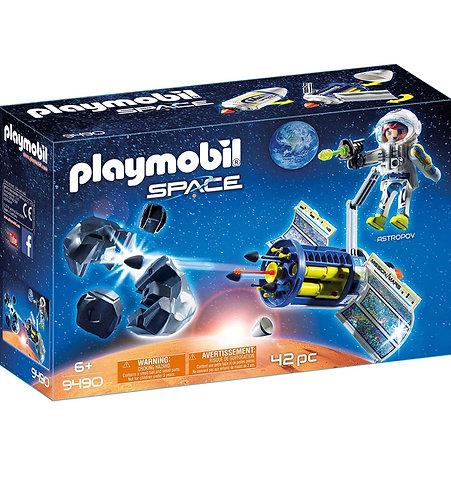 Playmobil Láser de Meteorito Satelital (42 pcs)