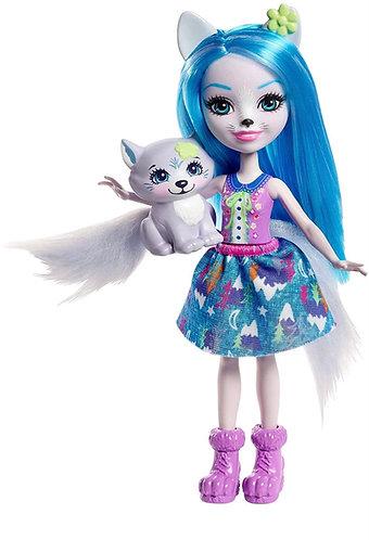 Enchantimals Winsley Wolf Doll & Tooper