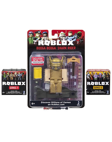 Roblox Action Collection Shark Rider Figura + 2 figuras misteriosas