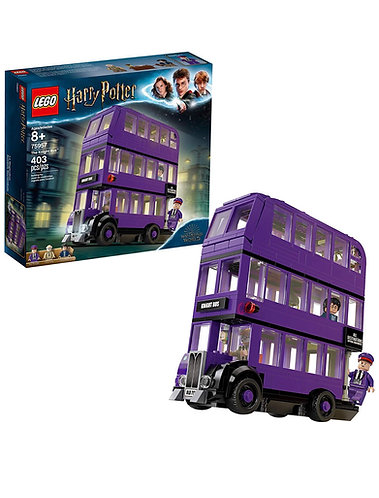 Lego: Harry Potter y el prisionero de Azkaban knight bus