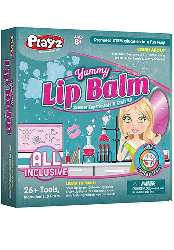 PlayZ Crea tu propio Bálsamo Labial (kit con accesorios)