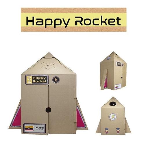 Cohete de Cartón Happy Rocket