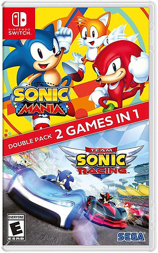 Juego SONIC Mania +Team SONIC Racing Nintendo Switch Lite