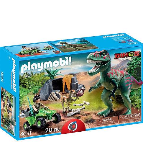 Playmobil Equipo de Exploración con T-Rex