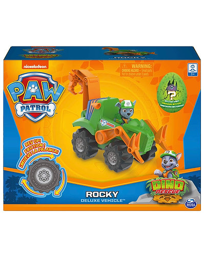 Paw Patrol Dino Rescue Rocky (Incluye Dinosaurio Sorpresa)