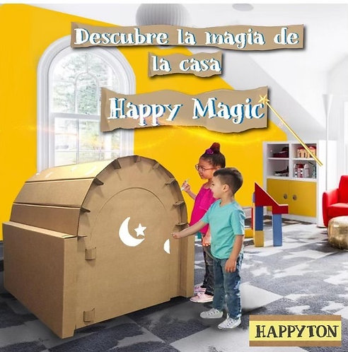 Casa de Cartón Happy Magic