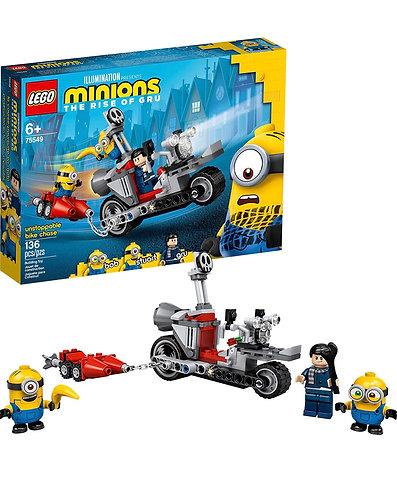 LEGO Minions 75549 Unstoppable Bike Chase (136 pcs)