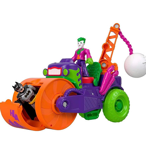 The Joker Vehículo Steamroller Fisher-Price Imaginext DC