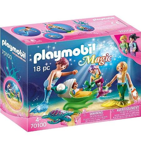Playmobil  70100 Magic Family (18 pcs)