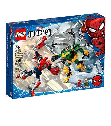 LEGO Spiderman & Doctor Octopus Mech Battle 76198 (305 pcs) 2021