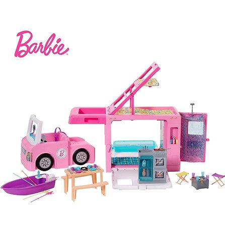 DreamCamper de Barbie Vehículo 3 en 1