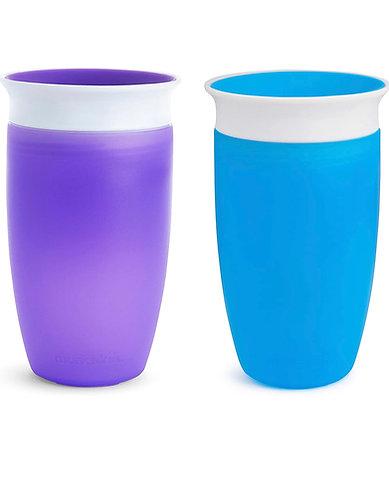 Vasos 360 azul y morado