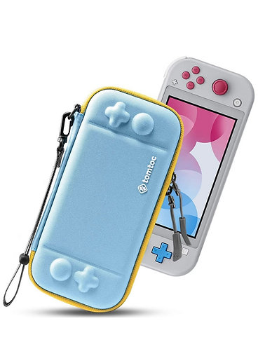 Case para Nintendo Switch Lite Color Azul/Amarillo