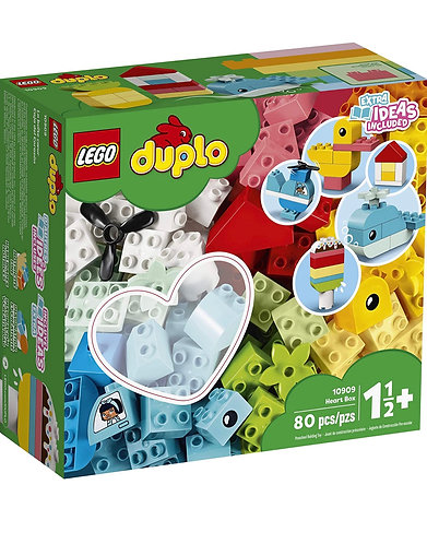 LEGO DUPLO 10909 Classic Heart Box 80 pcs