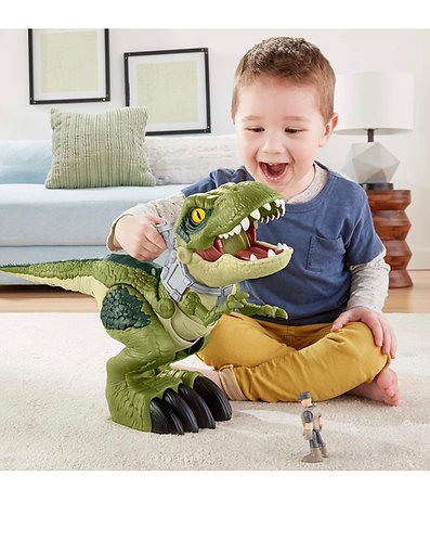 Jurassic World Mega Mouth Tiranosaurio Rex Imaginext Fisher-Price