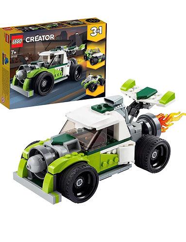 LEGO Creator 3en 1 Cocket Truck 31103