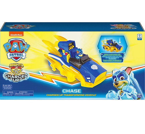 Paw Patrol Chase Charged Up Transforming Vehicule